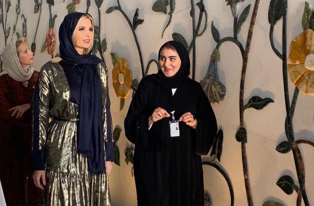 Арабская сказка: Иванка Трамп в Абу-Даби (фото 3)
