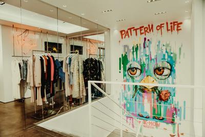 Открытие выставки BKK-MOW в бутике Aizel (галерея 4, фото 0)