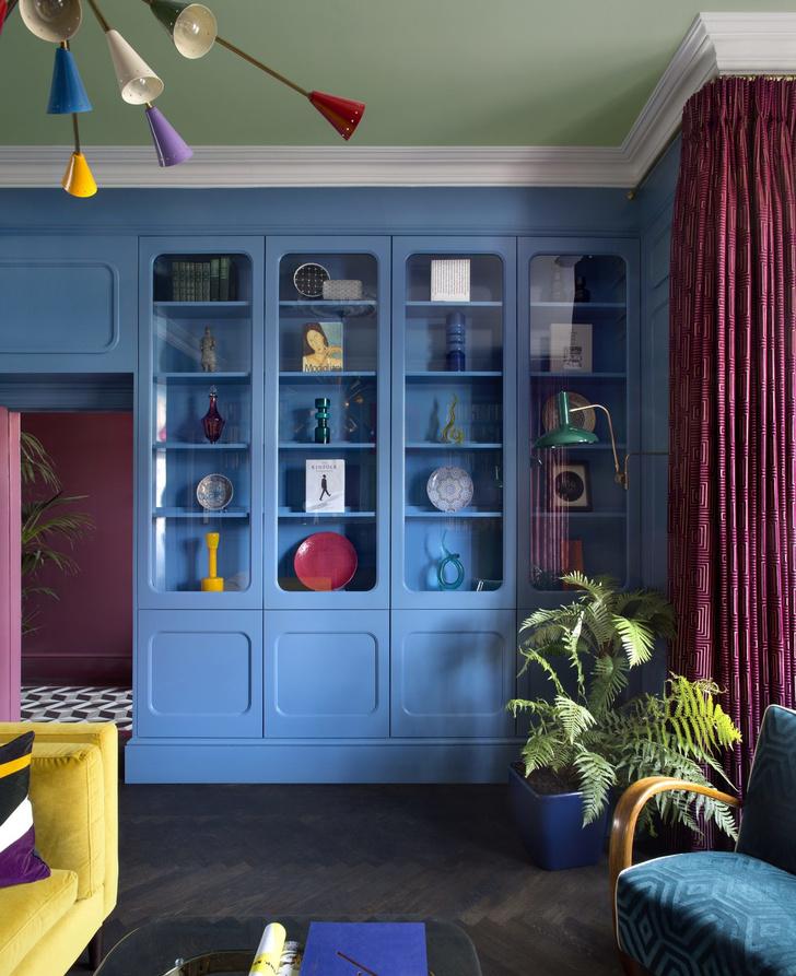 Color-blocking: интерьер дома в Дублине (фото 3)