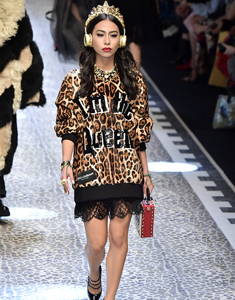 Молодые львы: шоу Dolce & Gabbana в Милане | галерея [1] фото [2]