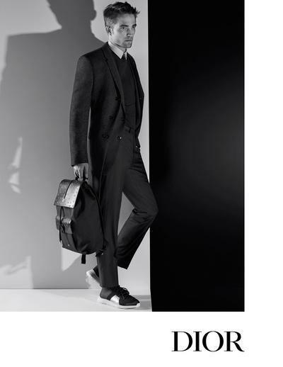 Роберт Паттинсон в рекламной кампании Dior Homme (галерея 1, фото 1)