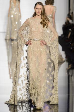 Показ Zuhair Murad коллекции сезона Весна-лето 2015 года haute couture - www.elle.ru - Подиум - фото 593255