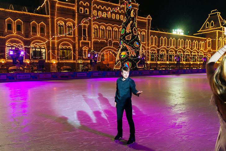 Алексей Ягудин на открытии бутика Nespresso в ГУМе