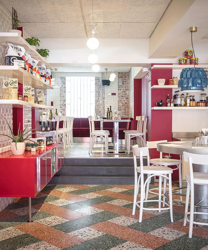 Итальянский ресторан Latteria в Лондоне (фото 8)