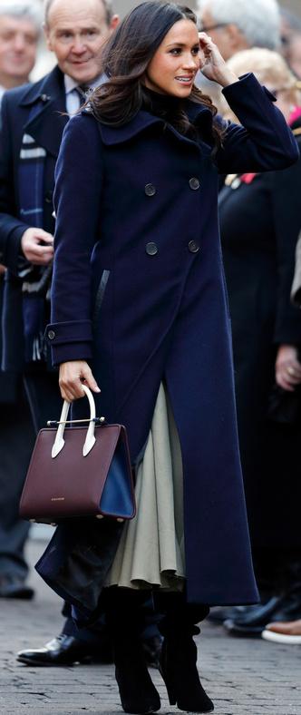 Меган Маркл опередила Кейт Миддлтон в рейтинге самых стильных людей (фото 1)