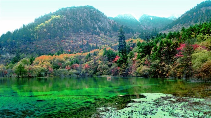 Jiuzhaigou Valley, Чэнду, Китай