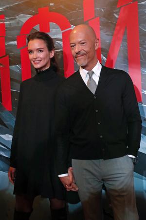 Паулина Андреева и Федор Бондарчук на премьере фильма «Селфи» (фото 2)
