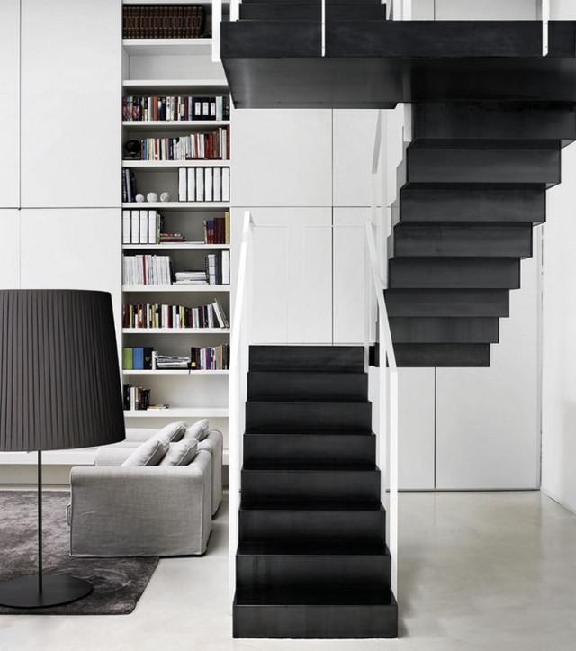 Топ-10: самые необычные дизайнерские лестницы | галерея [4] фото [2]