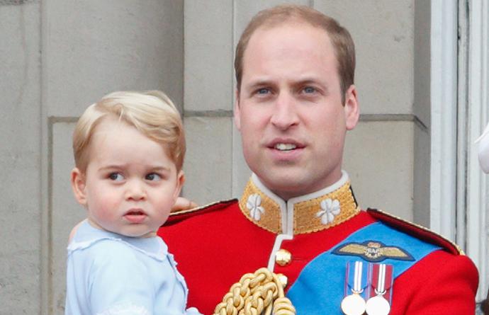 25 самых забавных фото принца Георга