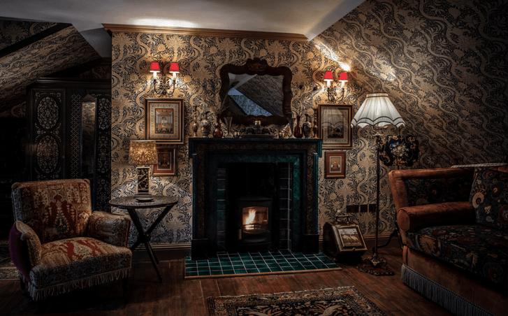 Отель в старинном охотничьем домике в Шотландии (фото 9)