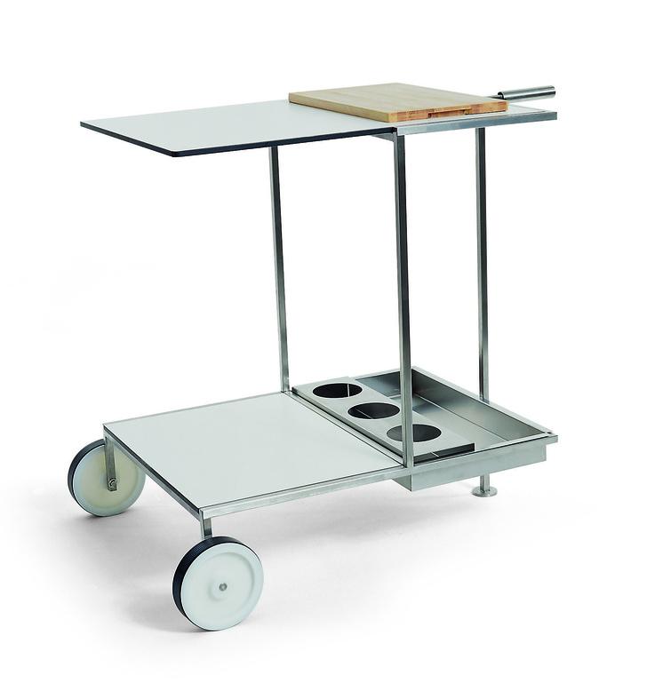 Сервировочный столик на колесах, Coro, www.coroitalia.it