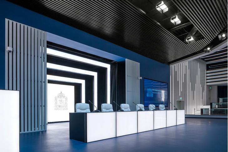 Зал заседаний Мособлдумы в стиле «Звездных войн» (фото 8)