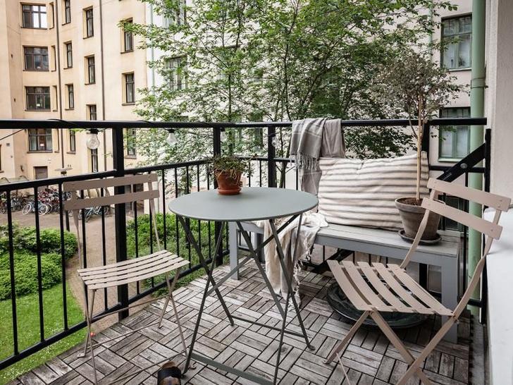 Балкон в скандинавском стиле: 7 советов (фото 25)