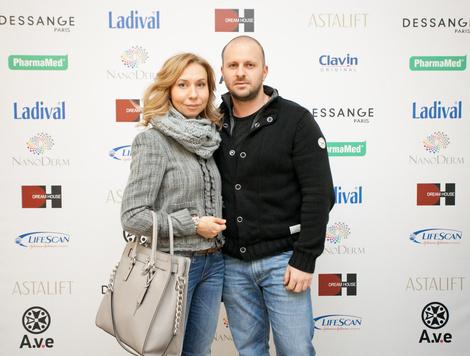 Елена Усанова и Валерий Еременко