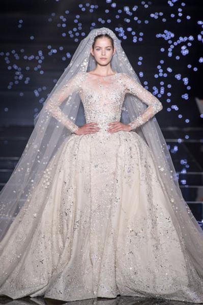 10 самых красивых свадебных платьев с Недели Высокой моды в Париже. | галерея [1] фото [6]