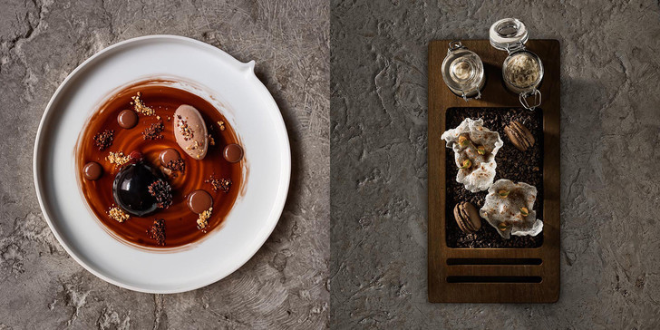 Ресторан Alma Michelin еда