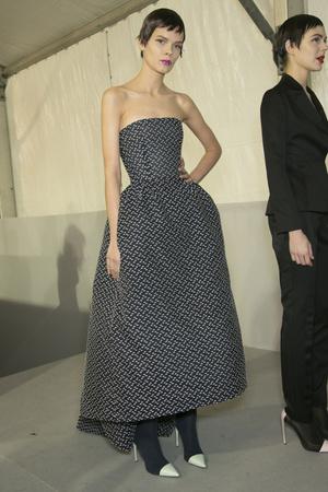 Показ Christian Dior коллекции сезона Весна-лето 2013 года Haute couture - www.elle.ru - Подиум - фото 478067