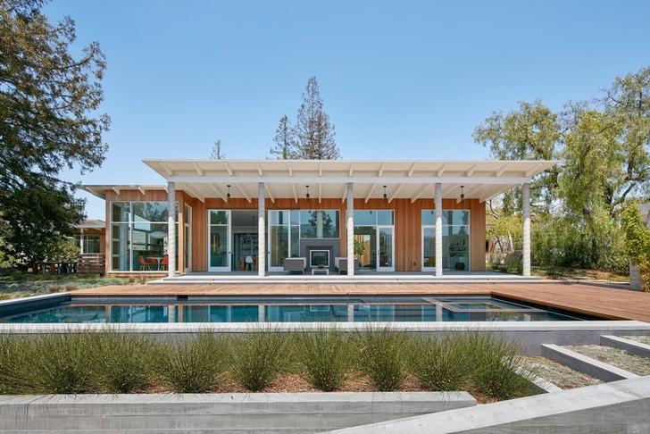 Просторное ранчо на севере Калифорнии по проекту Malcolm Davis Architecture (фото 0)