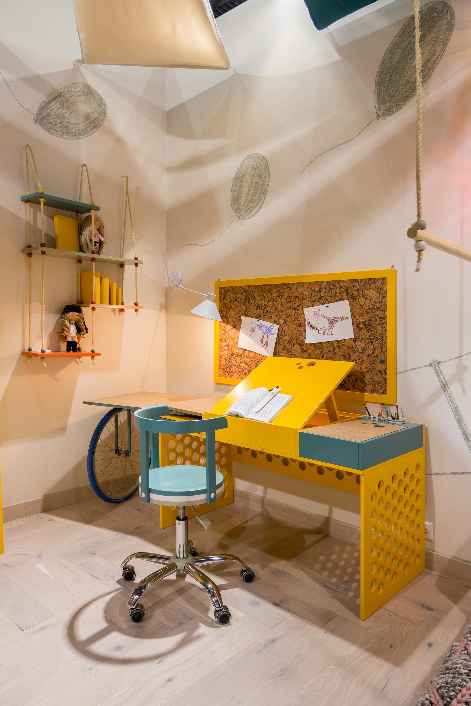 Веселые ребята: детская мебель дизайнера Натальи Гусевой (галерея 8, фото 3)