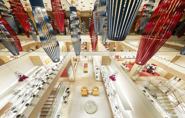Питер Марино оформил новый флагман Louis Vuitton в Сиднее (фото 2)