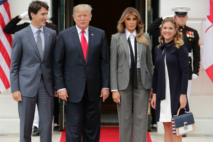 Образ дня: Мелания Трамп в Ralph Lauren фото [3]