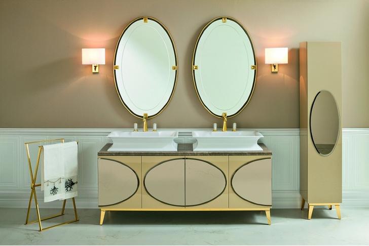 Топ-10: ванная комната в золотом цвете (фото 1)