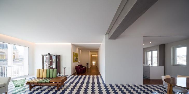 Белая квартира с винтажной плиткой на Сицилии (фото 0)