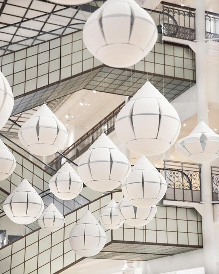 Инсталляция Nendo в универмаге Bon Marché в Париже (фото 7)
