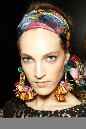 Показ Dolce & Gabbana коллекции сезона Весна-лето 2013 года Prêt-à-porter - www.elle.ru - Подиум - фото 445245
