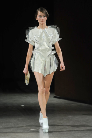 Показ  коллекции сезона Весна-лето 2012 года Haute couture - www.elle.ru - Подиум - фото 331099