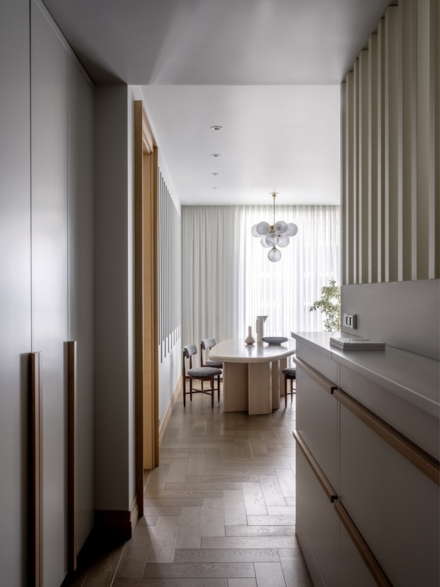 Воздушные замки: светлая квартира в новом доме на Пресне (фото 11)