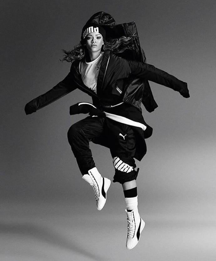 Спортивный бренд Puma представил новую модель женских кроссовок