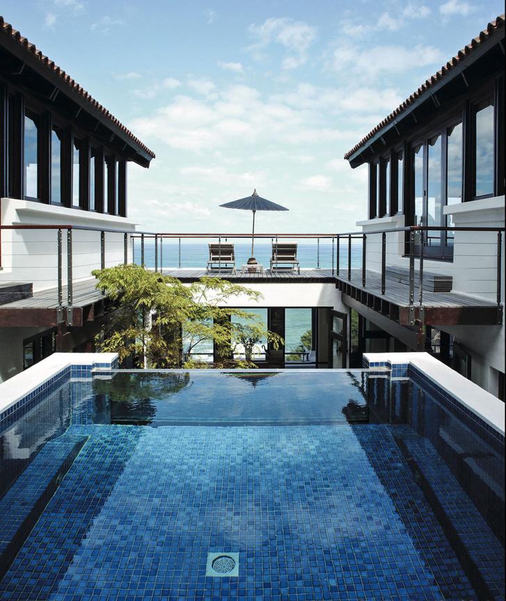 15 восхитительных проектов бассейнов для загородного дома (фото 3)