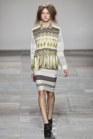 Показ Fashion East коллекции сезона Осень-зима 2012-2013 года Prêt-à-porter - www.elle.ru - Подиум - фото 356136