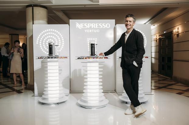 Портал в космос: презентация Nespresso в Большом театре (фото 5)