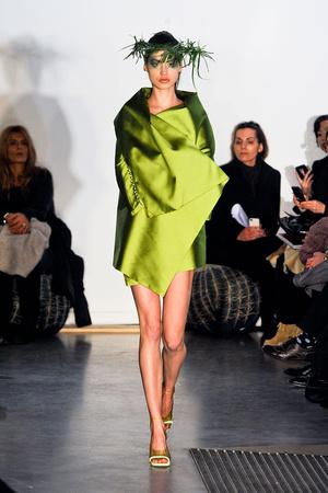 Показ Maurizio Galante коллекции сезона Весна-лето 2012 года Haute couture - www.elle.ru - Подиум - фото 330255