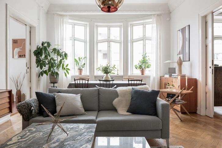 Образцовая скандинавская квартира 140 м² (фото 2)