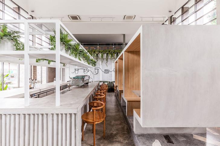 Лаундж-кафе Full Circle на Бали (фото 8)