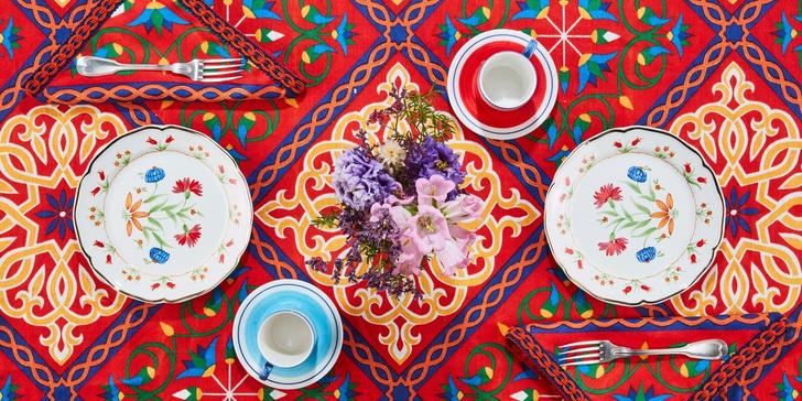 Первая коллекция посуды от Carolina Herrera x Cabana (фото 3)