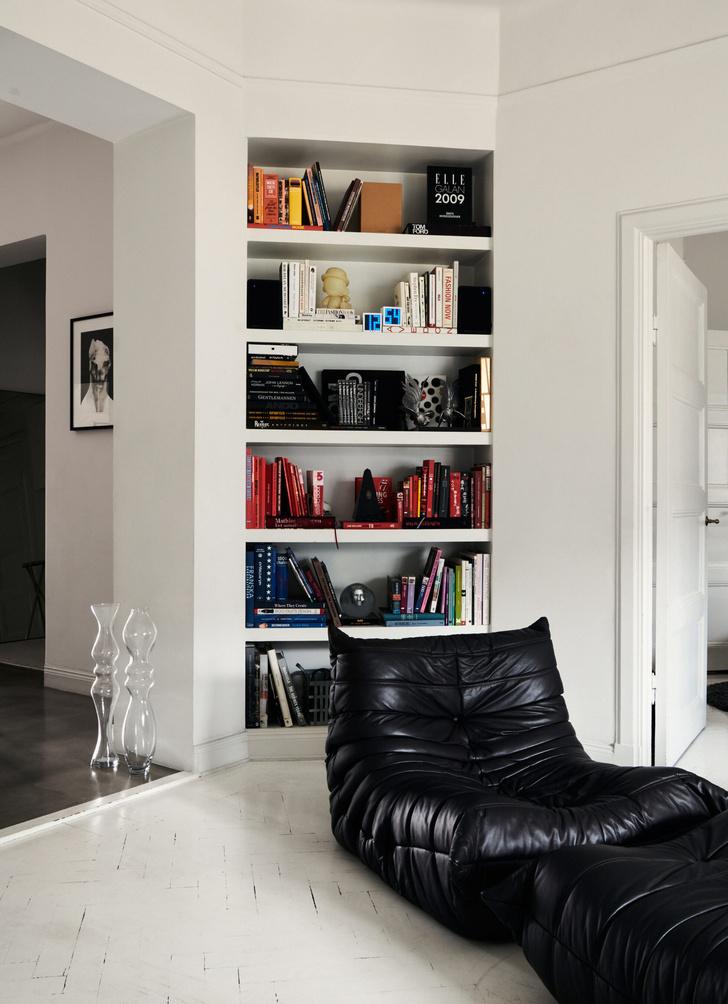 Монохромная квартира для дизайнера в Стокгольме (фото 16)