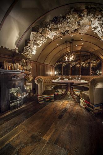 Интерьеры ресторана Hide Евгения Чичваркина (фото 22.1)