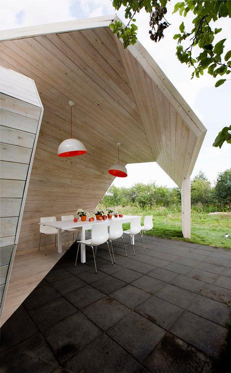 Беседки и павильоны для дачи от российских архитекторов (галерея 11, фото 2)