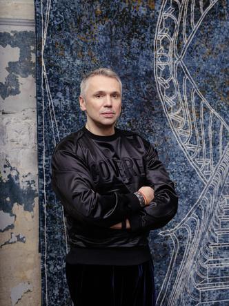 Авангард, лестницы и море: ковры от русских дизайнеров (фото 16)