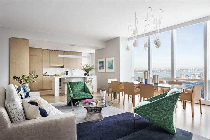 Яркие апартаменты в Нью-Йорке (фото 0)
