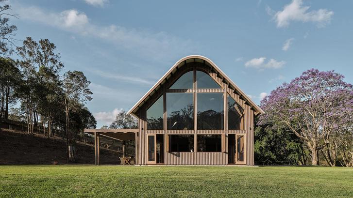 Домик в деревне: загородный дом в стиле Барнхаус в Австралии (фото 0)