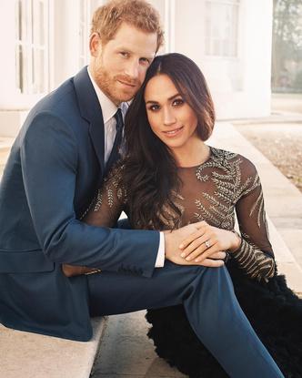 В сети раскритиковали новые официальные фото принца Гарри и Меган Маркл (фото 1)