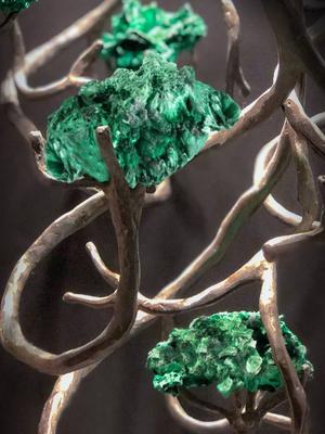 Orpheus Malachite: новые фантазийные светильники Brand Van Egmon (фото 2.2)