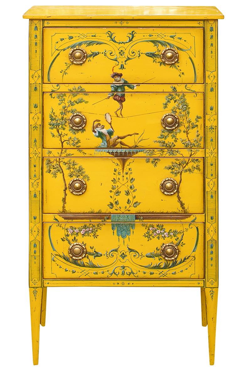 Комод Directoire, Moissonnier, салоны Lege Alto, Galerie 46.