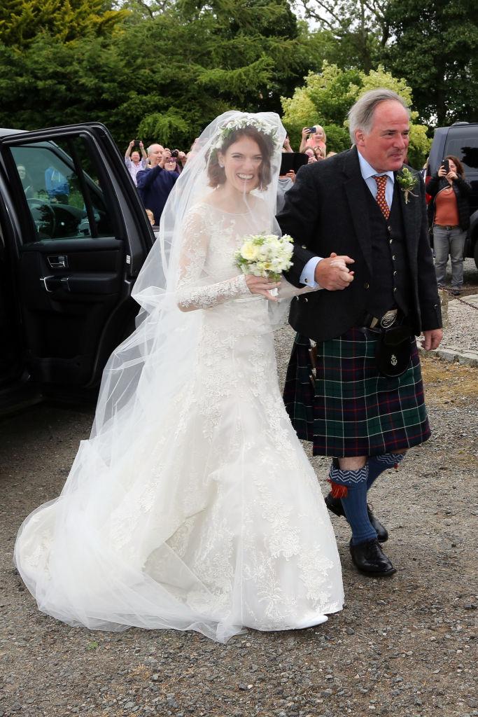 Кит Харингтон иРоуз Лесли поженились (фото 1)
