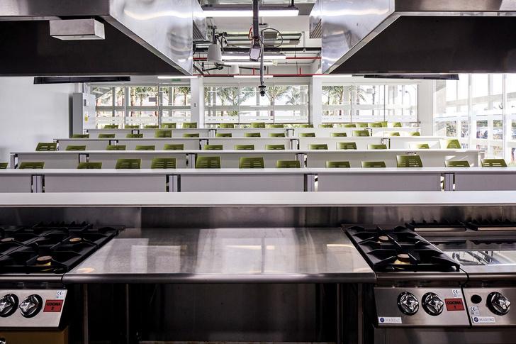 Кулинарная школа в Перу в индустриальном стиле (фото 12)